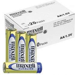 Maxell Alkaline Batterien - AA (Mignon) LR6 - Packung à 40 Stk._10525