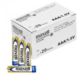 Maxell Alkaline Batterien - AAA (Micro) LR03 - Packung à 40 Stk._10526