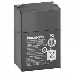 Panasonic Standard Bleiakku (LC-R064R5P) - 6V - 4.5Ah_10538