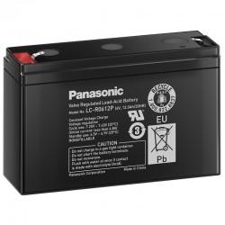Panasonic Standard Bleiakku (LC-R0612P) - 6V - 12Ah - Faston 4.8mm_10539