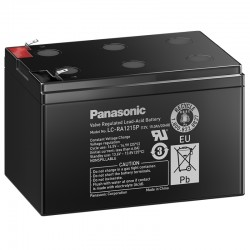 Panasonic Standard Bleiakku (LC-RA1215P) - 12V - 15Ah_10546