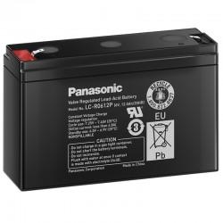 Panasonic Standard Bleiakku (LC-R0612P) - 6V - 12Ah - Faston 6.3mm_10548