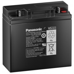 Panasonic Long-Life Bleiakku (LC-XD1217PG) - 12V - 17Ah_10560