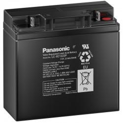 Panasonic Zyklisch Bleiakku (LC-XC1222P) - 12V - 22Ah_10569