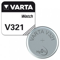 Varta Knopfzelle - 321 - Packung à 10 Stk._10576