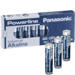 Panasonic Alkaline Powerline Industrial AAA - LR03 - Packung à 10 Stk._10585