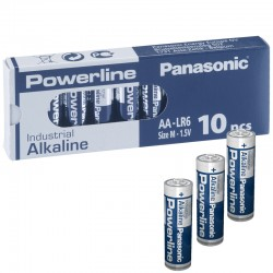 Panasonic Alkaline Powerline Industrial AA - LR6 - Packung à 10 Stk._10586