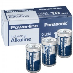 Panasonic Alkaline Powerline Industrial C - LR14  - Packung à 10 Stk._10587