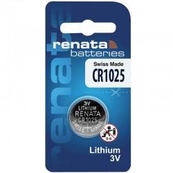 Renata Lithium Knopfzelle - CR1025 - Packung à 1 Stk._10597
