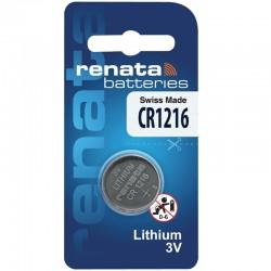 Renata Lithium Knopfzelle - CR1216  - Packung à 1 Stk._10600