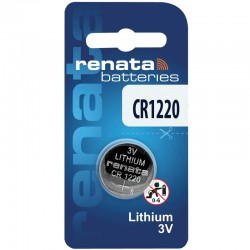Renata Lithium Knopfzelle - CR1220  - Packung à 1 Stk._10601