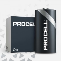 PROCELL Duracell - C - Packung à 10 Stk._10653