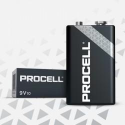 PROCELL Duracell - 9V -  Packung à 10 Stk._10655