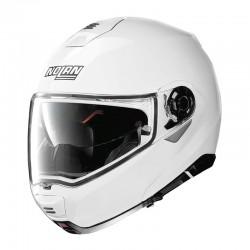Motorradhelm Nolan N100-5, weiss, Grösse 55/56_10679