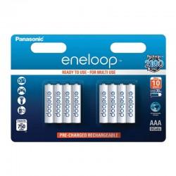 Panasonic eneloop AAA - 750mAh - Packung à 8 Stk._10713