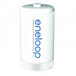 Panasonic eneloop Adapter D - Packung à 2 Stk._10715