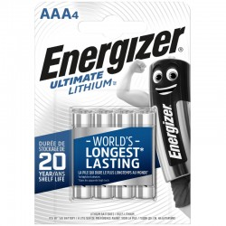 Energizer Ultimate Lithium - AAA - Packung à 4 Stk._10739