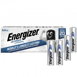 Energizer Ultimate Lithium - AA - Packung à 10 Stk._10740