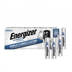 Energizer Ultimate Lithium - AAA - Packung à 10 Stk._10741