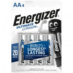 Energizer Ultimate Lithium - AA - Packung à 4 Stk._10742