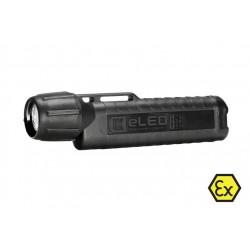 UK4AA eLED RFL-ET, neongelb, ATEX Taschen-/Helmlampe, Heckschalter, schwarz_10806