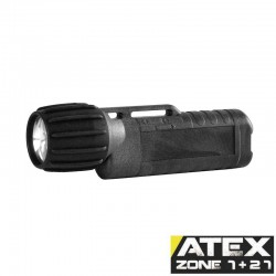 UK3AA eLED CPO-ET, ATEX Taschen-/Helmlampe, Heckschalter, graphit_10809