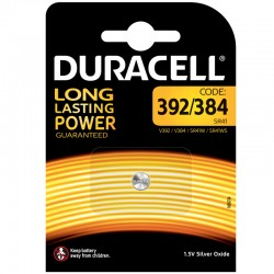 Duracell Knopfzelle 392 - 384 - Packung à 1 Stk._10954