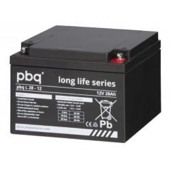 pbq Long-Life Bleiakku L 28-12 - 12V - 28Ah_10965