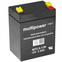Multipower Standard - MP2.9-12R - 12V - 2.9Ah_11012