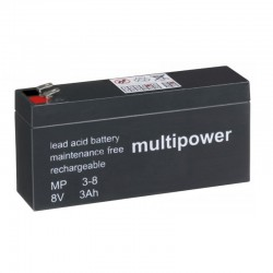 Multipower Standard - MP3-8 - 8V - 3Ah_11085