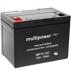 Multipower Zyklisch - MP75-12C - 12V - 75Ah_11096