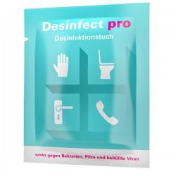 PRODERMA Hände- und Flächendesinfektions-Tücher - Desinfect pro - 30er Schachtel_11121