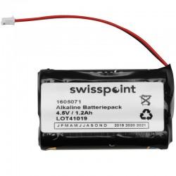 Batteriepack Alkaline 3 x AAA in Reihe - mit Kabel 60mm und Stecker_11285