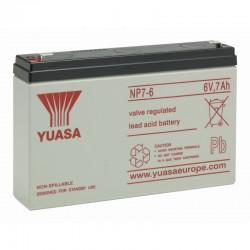 Yuasa Standard Bleiakku NP7-6_11467