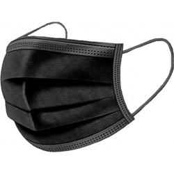 Aspop Mundschutzmaske - Typ IIR - schwarz - Packung à 50 Stk._11544