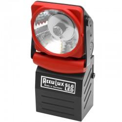 AccuLux Handlampe mit Notlichtfunktion Typ SL 6 LED Set - Vorsatzscheibe orange_12008