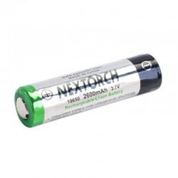 NEXTORCH 18650 Lithium-Ion (Li-Ion) Akku -  3.6V  2600mAh_12021