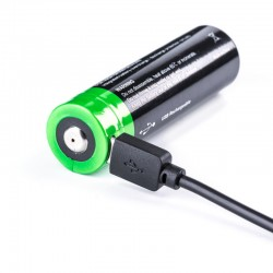 NEXTORCH 21700 USB Lithium-Ion (Li-Ion) Akku -  3.6V  5000mAh - für TA30MAX_12022