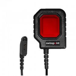 Grosse PTT-Taste PTT20 für TAIT TP9300 - Savox - Rot_12054