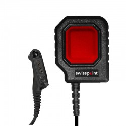 Grosse PTT-Taste PTT20 für Motorola DP4400 - Savox - Rot_12057