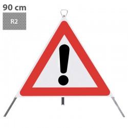 Nissen Faltsignal TrioSign 90cm, R2, komplett - 1.30_12253