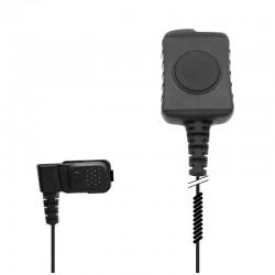 Diskrete Basis Interface Box mit PTT / Mikrofon mit 3.5mm Ohrhörer-Steckerbuchse - verstärkte Kabel Ausführung_12319