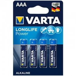 Varta Longlife Power - AAA - Packung à 4 Stk._12329