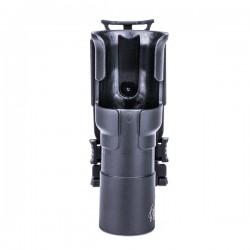 NEXTORCH Taktisches Taschenlampen Holster V31 - 360 Grad drehbar & arretierbar, Gürtelclip, MOLLE kompatibel_12361