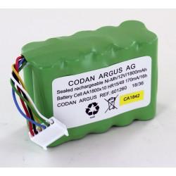 ARGUS Medizinakku passend für Codan Argus Infusionspumpe A717-O (Original)_12433