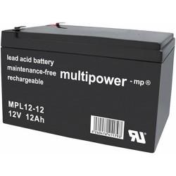 Multipower Long-Life Bleiakku - MPL12-12 - 12Ah_12446