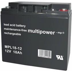Multipower Long-Life Bleiakku - MPL18-12 - 18Ah_12447