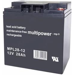 Multipower Long-Life Bleiakku - MPL28-12 - 28Ah_12449