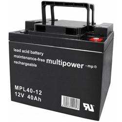 Multipower Long-Life Bleiakku - MPL40-12 - 40Ah_12451