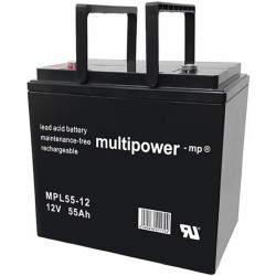 Multipower Long-Life Bleiakku - MPL55-12 - 55Ah_12452